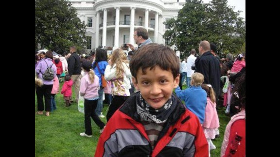 Bryn attended the White House Easter Egg Roll in 2009.