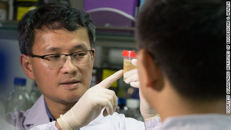 Pei Duanqing's lab has created stem cells from urine.