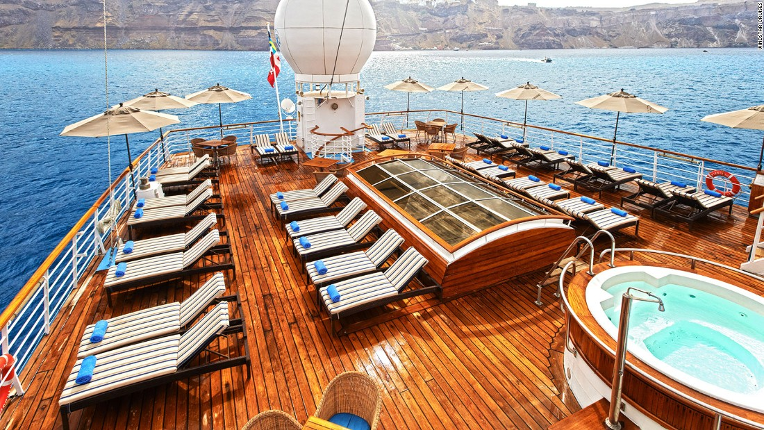 Small Cruise Ships Big On Luxury Intimacy Adventure CNN Travel - Luxury small cruise ships mediterranean