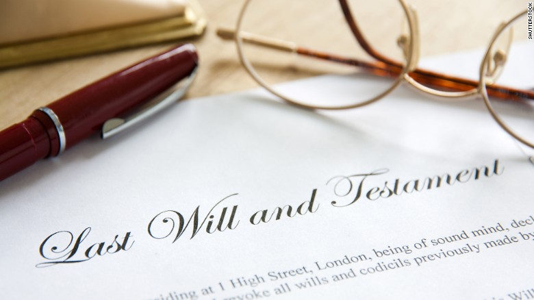 What happens if you don't have a will?