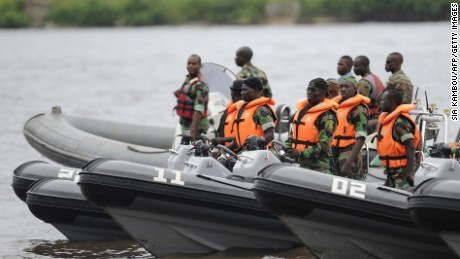 Nigeria launches search and rescue mission for kidnapped crew