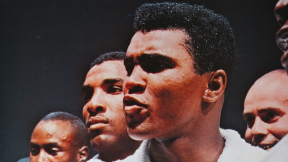 Muhammad Ali, formerly known as Cassius Clay, is one of the true sporting greats.