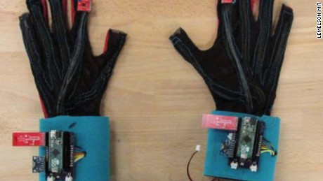 title: Inventors Create Gloves That Translates Sign Language Into Speech  duration: 00:02:26  site: Youtube  author: null  published: Mon Apr 25 2016 08:13:01 GMT-0400 (Eastern Daylight Time)  intervention: no  description: Inventors Create Gloves That Translates Sign Language Into Speech    One of the most difficult parts of being deaf and or mute is not being able to communicate with others. It?s like being a foreigner in your own country. Thankfully, we are living in the future. University of Washington students Thomas Pryor and Navid Azodi wanted to fix this problem, so they invented gloves that connect to a computer via Bluetooth. Amazingly, the computer and gloves translate American Sign Language into speech in real time.     SUBSCRIBE FOO AWES