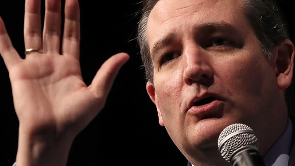 Texas Sen. Ted Cruz, who ran against Trump in the primary