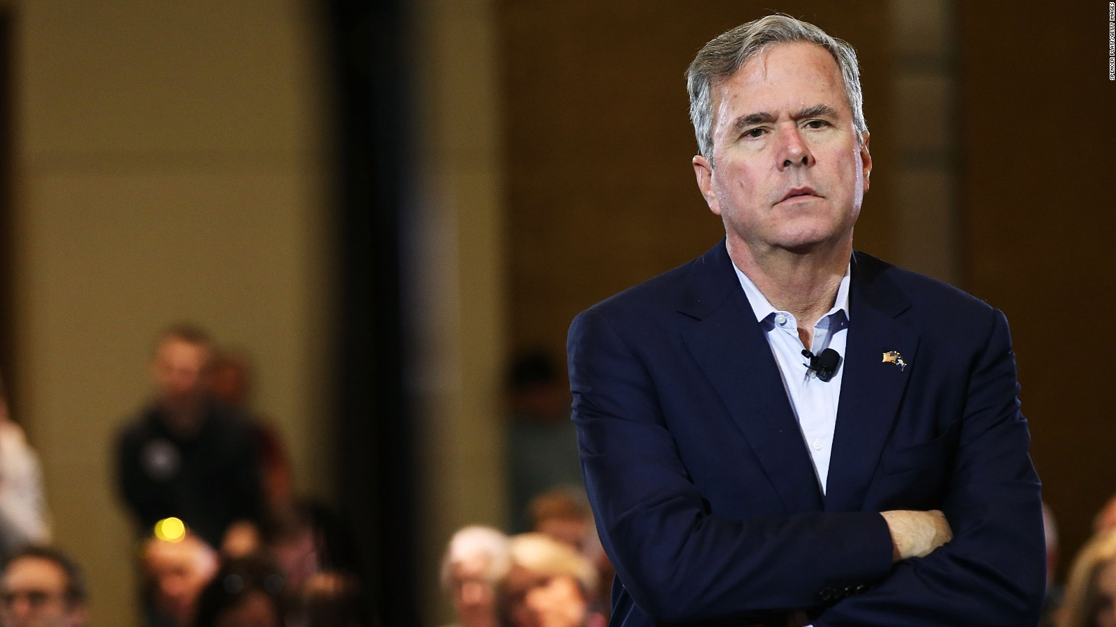 Jeb Bush Quotes Bush On Trump's Taco Tweet  'it's Like Eating A Watermelon And