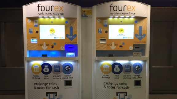 These machines exchange coins and notes of currencies from around the world, saving globetrotters time and money. South African duo Jeff Paterson and Oliver du Toit's idea for Fourex  took off in 2015 when it won Richard Branson's entrepreneurship competition Pitch to Rich.