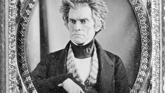 Portrait of Vice President John Calhoun, circa 1801. (Photo by Fotosearch/Getty Images).