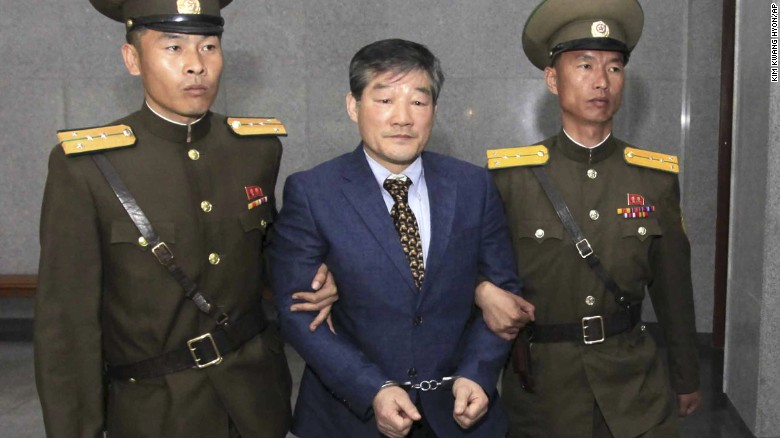North Korea sentences American to hard labor