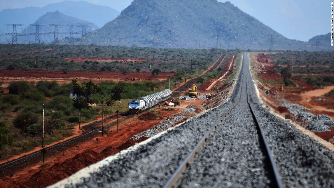 Chinese funded railways to link East Africa - CNN