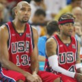 Tim DUNCAN, Allen IVERSON USA basketball