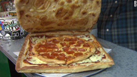Image result for images of pizza box made out of pizza