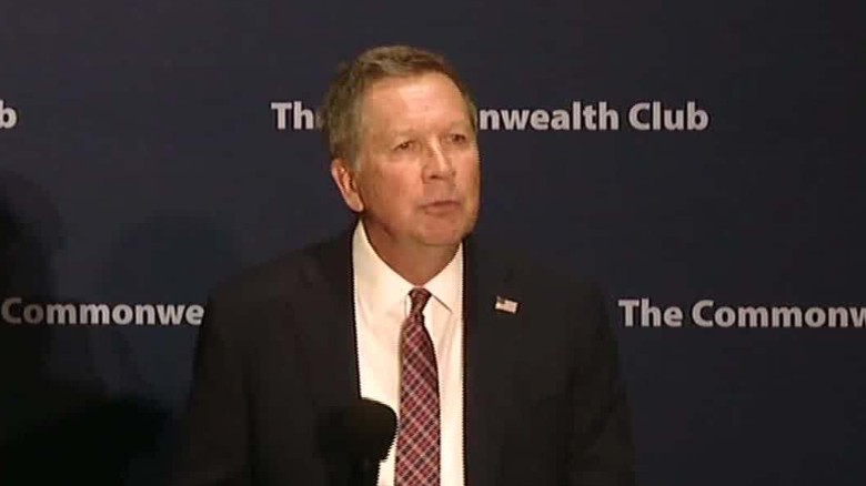 Kasich: People are 'probably' born gay