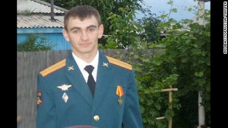 Alexander Prokhorenko called in an airstrike on his own position while battling ISIS in Syria.