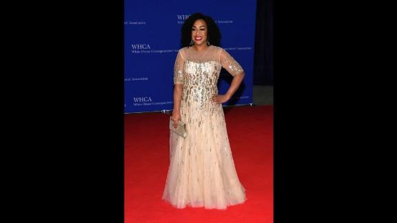 Television producer Shonda Rhimes.