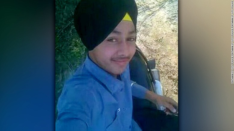 **UNKNOWN SHOT DATE** Photo: Ramandeep Singh  15-year-old Ramandeep Singh accidentally shot himself while trying to take a selfie with his father's gun. Singh died in hospital in the afternoon on Sunday May 1, 2016.