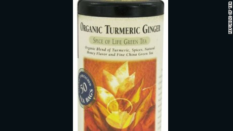 The Republic of Tea is voluntarily recalling its organic turmeric ginger tea.