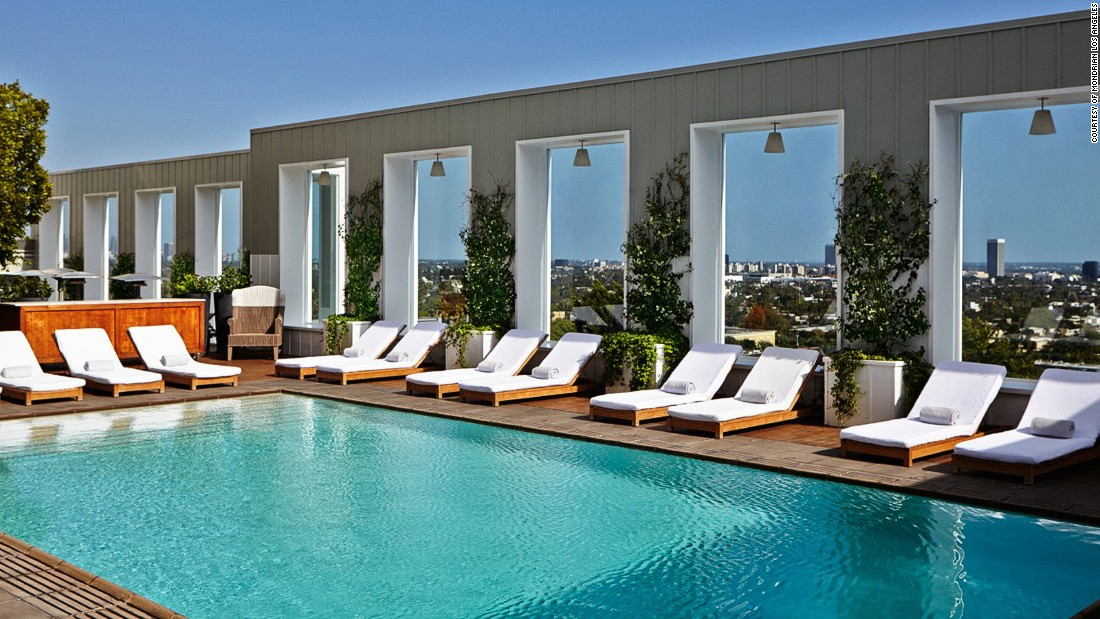 Hotel outdoor pool  Los Angeles hotel pools: 6 that make a real splash | CNN Travel