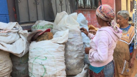 GUATEMALA/ LIFE OF A GARBAGE PICKER: After the accident of a trash avalanche that killed at least 20 people in a landfill Guatemala City on Thursday, we profile a mother and a daughter who dedicated their lives to being garbage pickers.   -Reporter Patzy Vasquez files pkg for 6pm