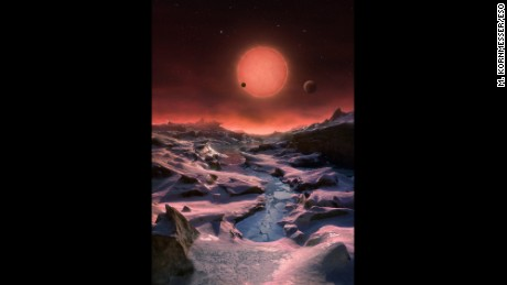 Three Earth-like planets discovered orbiting dwarf star
