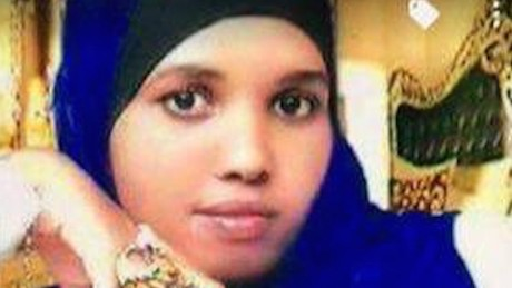 Hodan Yasin, Somali asylum seeker who set fire to herself in Australian immigration center on Nauru.