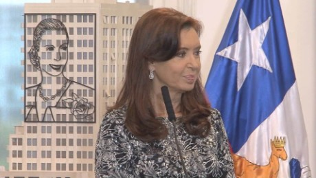 "Former Argentine President Cristina Fernandez de Kirchner says accusations about her are ""absolutely false."""
