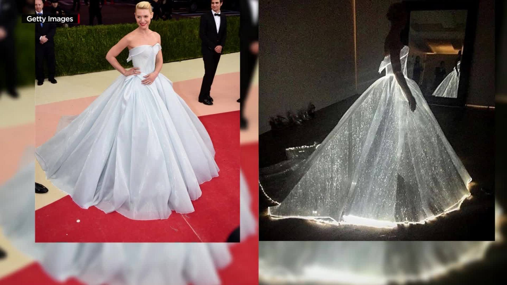 Claire Danes\' dress the brightest star at Met Gala - CNN Video