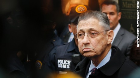 Former New York Assembly Speaker Sheldon Silver leaves federal court in New York on May 3, 2015.