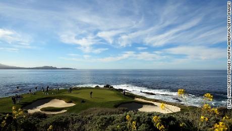 7th Hole Pebble Beach Golf Links California