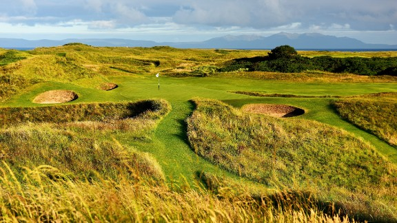 """Royal Troon: The course is famed for its devilish par-three eighth hole, dubbed the """"Postage Stamp."""" It"""