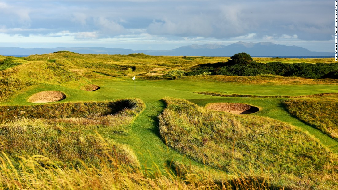 "<strong>Royal Troon:</strong> The course is famed for its devilish par-three eighth hole, dubbed the ""Postage Stamp."" It's only 123 yards long but provides a stiff test in the wind, with deep bunkers and a thin green."