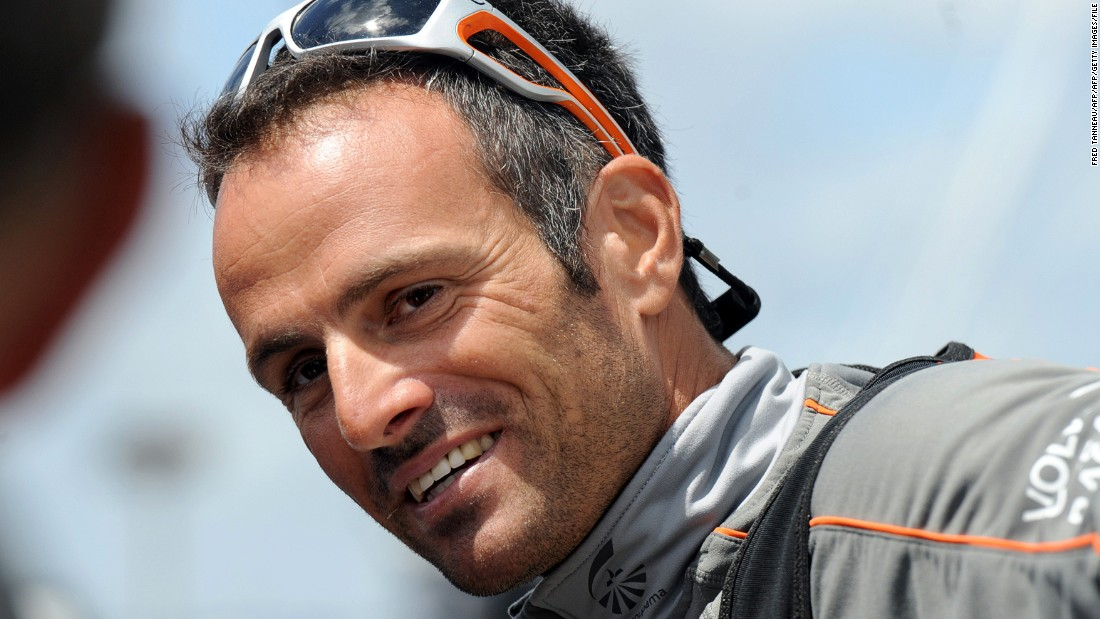 Skipper Franck Cammas, 43, has won some of sailing's most prestigious competitions, including the Volvo Ocean Race, the  Transat Jacques Vabre and Route du Rhum.