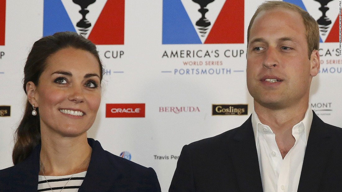 Ainslie's team has had support from the British government and the royal family -- including Prince William (R) and his wife Catherine, Duchess of Cambridge.