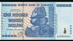 100 Trillion Dollar Bank Note