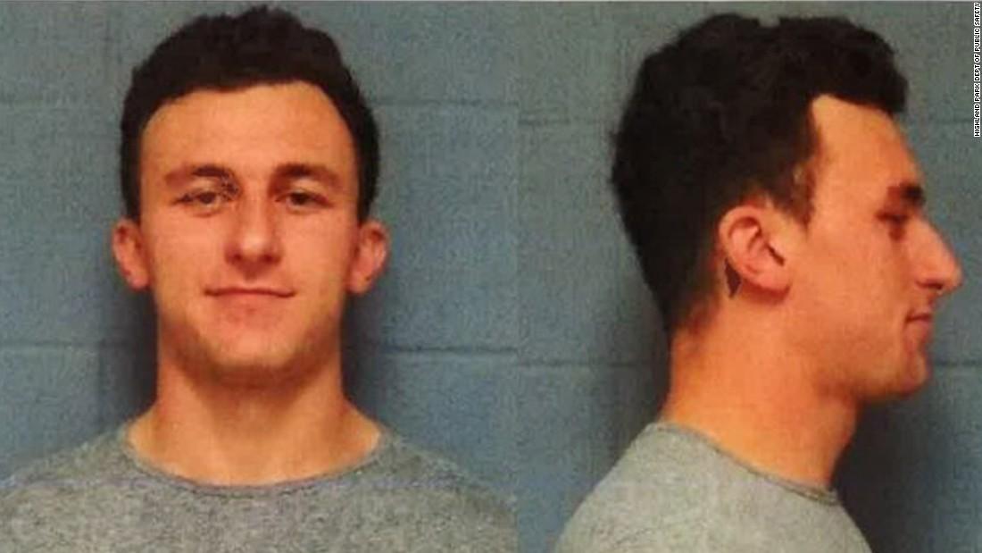 Johnny Manziel booked, posts bail - CNN