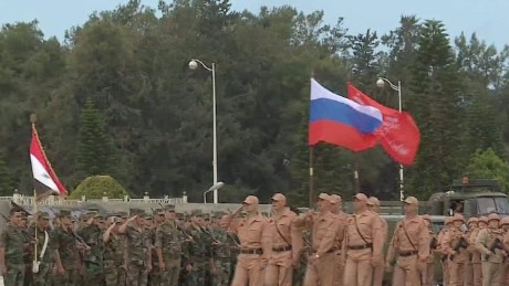 CNN travels with Russian troops inside Syria