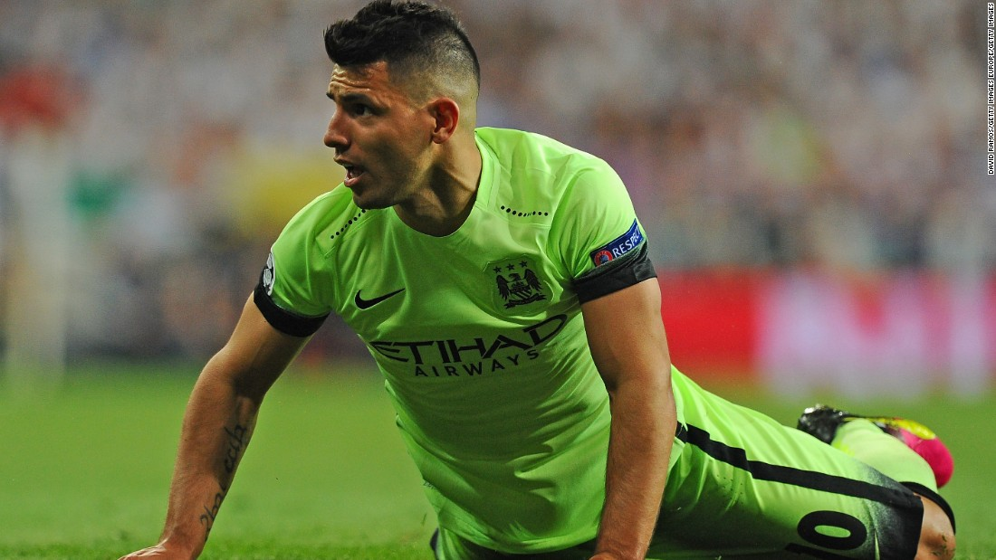 City did try to find an equalizer in the dying stages but rarely looked like troubling Real's defense. Star striker Sergio Aguero went close late on with a rasping drive from 25-yards.