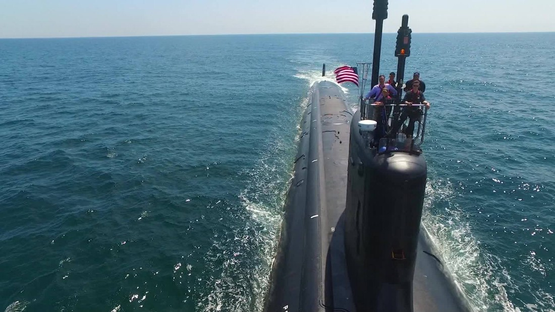 The attack sub on the front lines of a new cold war