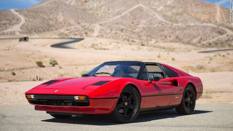 California-based company Electric GT turn 1978 Ferrari 308 into an electric car.
