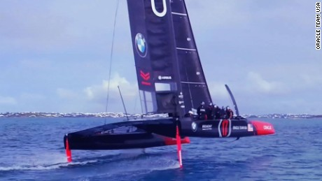 Sailing's unsung heroes: Behind the scenes at Oracle Team USA