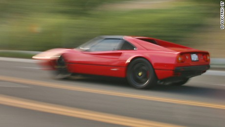 First Electric Ferrari Faster Than Original It Absolutely Decimated It Cnn