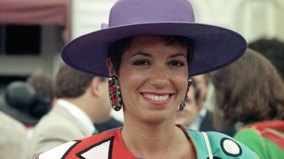 """""""In the 1970s and 1980s there was a return to the longer skirt, while the same casual attitude of the 1960s was still in place,"""" said the Kentucky Derby website."""