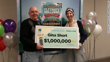 Len and Gina Short won $1 million three months ago.