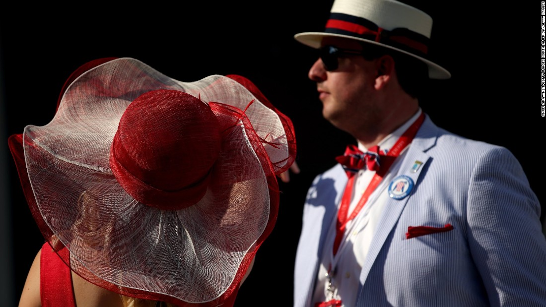 "Nicknamed the ""Run for the Roses"" due to the blanket of roses draped on the winning jockey, the Derby has long inspired red accessories among race-goers."