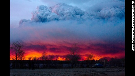 The fire in Canada looks a lot like climate change -- and that should scare you