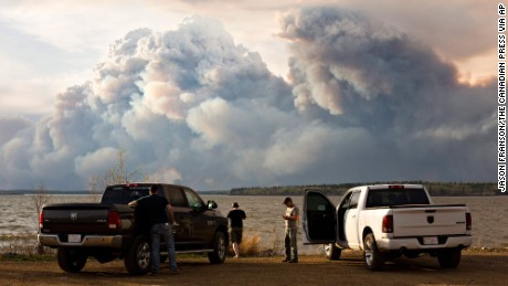 How wildfires create towering clouds, pyroculos