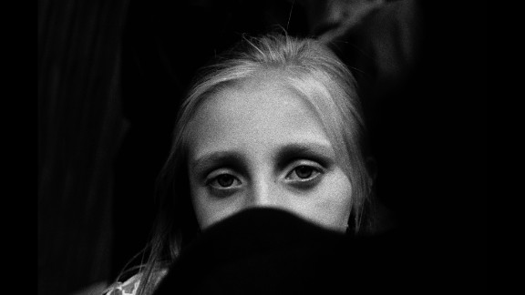 Battaglia's photos also include young girls and Sicilian women who give her hope.