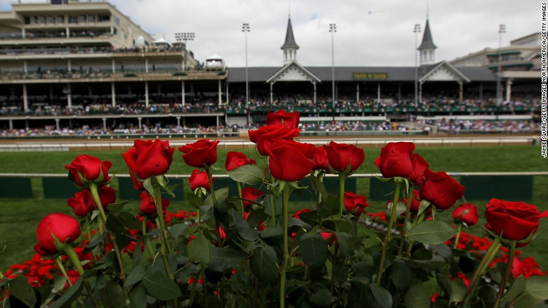 LOUISVILLE, KY - MAY 05:  Roses are seen from the winner's circle prior to the the 138th running of the Kentucky Derby at Churchill Downs on May 5, 2012 in Louisville, Kentucky.  (Photo by Jamie Squire/Getty Images)