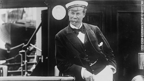 Merchant and yachtsman Sir Thomas Johnstone Lipton (1848-1931) started the Lipton tea company.