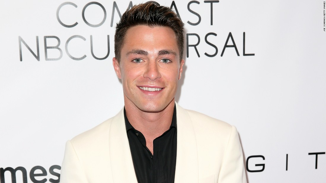 Actor Colton Haynes attends the 2015 March Of Dimes Celebration Of Babies at the Beverly Wilshire Four Seasons Hotel on December 4.