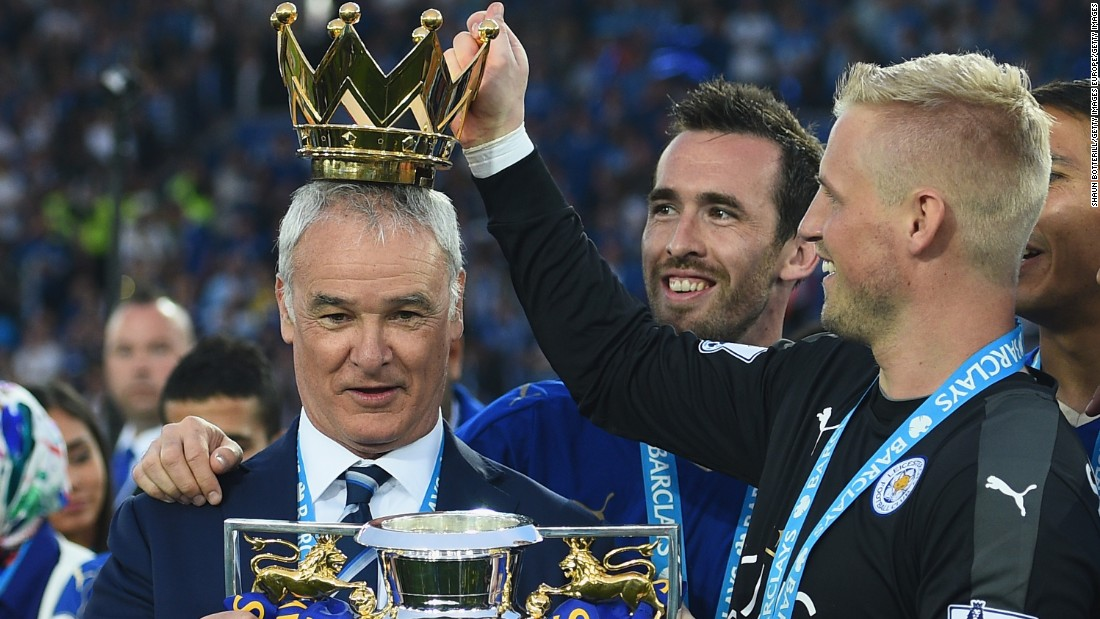The inspirational Italian coach has masterminded Leicester's first top flight win in the club's 132-year-history.